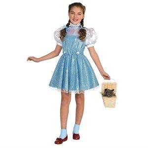 NEW Dorothy Wizard Oz Halloween Costume Blue Dress